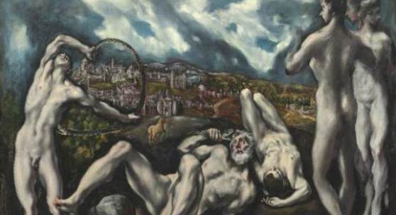 El Greco, Laokoon, 1610-14, Öl auf Leinwand, 137,5 x 172,5 cm, National Gallery of Art, Washington, Samuel H. Kress Collection 1946.18.1