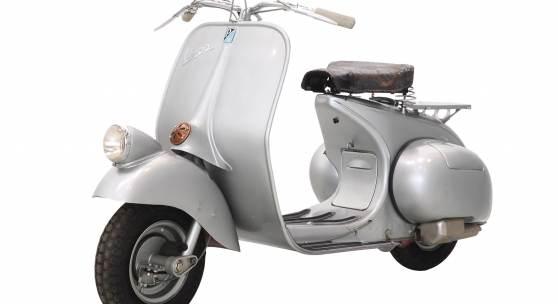 Kat. Nr. 33 1947 Vespa 98 Schätzwert € 45.000 - 65.000