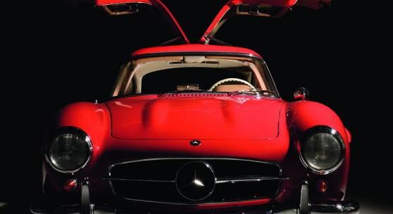 1955 Mercedes-Benz 300 SL, erzielter Preis € 1.067.000