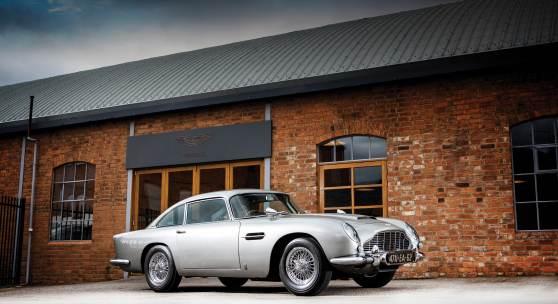 1965 Aston Martin DB5 Bond Car_Simon Clay ©2019 Courtesy of RM Sotheby's
