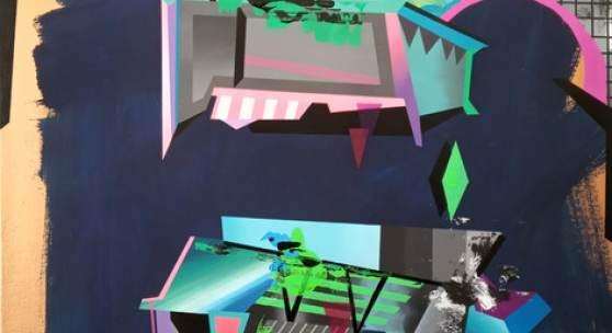 Kunstkonzil #40 zeigt in der Kleinen Galerie im Buddehaus Malerei und Zeichnungen von Marlet Heckhoff.