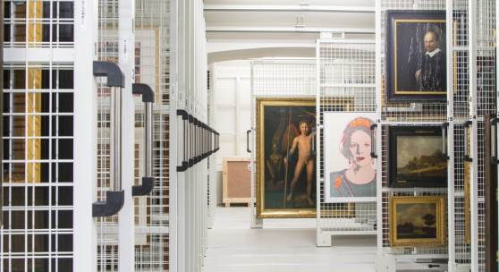 Storage Mauritshuis: Mauritshuis, The Hague Photographer: Ivo Hoekstra