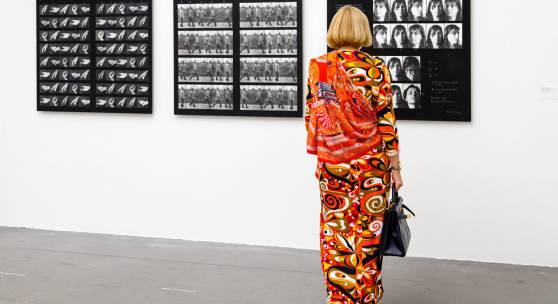 Dóra Maurer, Ausstellungsansicht Museum Haus Konstruktiv, 2021. Foto: Bettina Diel