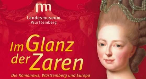 """Key Visual der Großen Landesausstellung """"Im Glanz der Zaren"""" © Landesmuseum Württemberg, Stuttgart."""