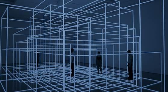 Exhibition British artist Antony Gormley