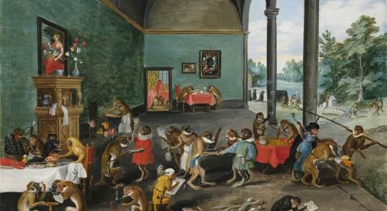 Jan Brueghel II (1601 - 1678) Eine Allegorie der Tulipomanie, Öl auf Holz, 25,5 x 35,5 cm, Schätzwert € 250.000 - 350.000