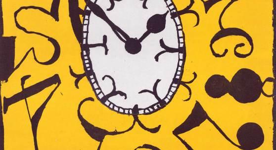 Matt Mullican, Ohne Titel (Uhr). 2010, Radierung und Aquatinta, Graphische Sammlung ETH Zürich