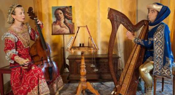 Ensemble Celeste Sirene, Musik und Texte des Quattrocento © Ensemble Celeste Sirene
