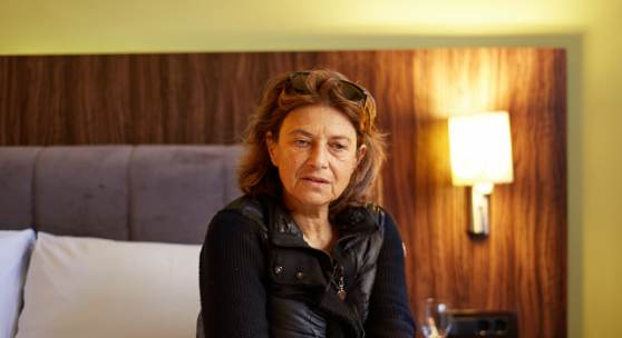 On Belonging with Chantal Akerman from right to left -  Ibro Hasanović