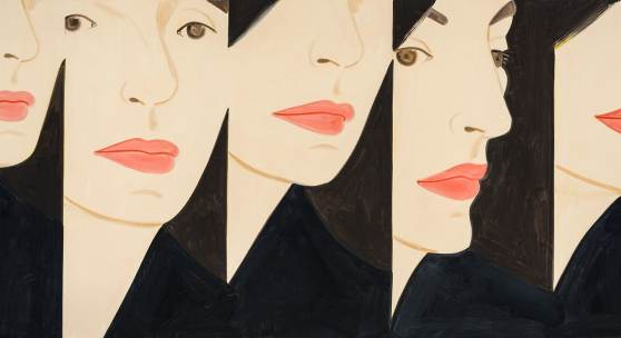 Vivien X 5, 2017, 20 color silkscreen on Saunders Waterford 425 gsm fine art paper, 102x244 cm, ed. 60