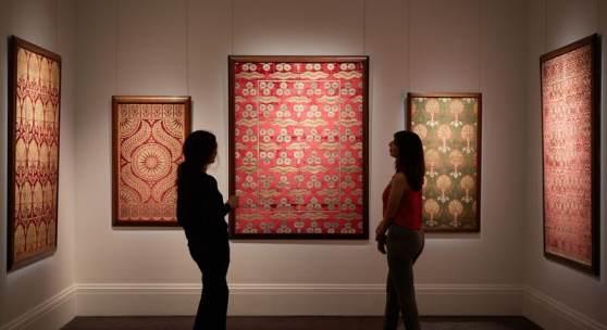 Ottoman textile   £13 million week of Middle Eastern art