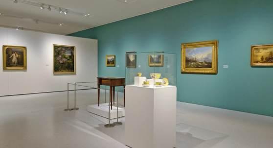 Die Kunst zu sammeln«, Foto Mike Wilfling, Neue Galerie, MHK