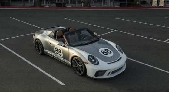 2019 Porsche 911 Speedster Courtesy of Porsche Cars North America