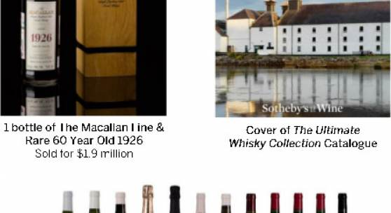 Sotheby's Wine Auctions Achieve a Record $118 Million in 2019