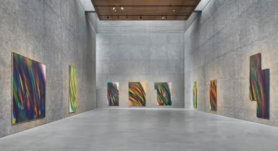 2020 Katharina Grosse KOENIG GALERIE NAVE exhibition view by Jens Ziehe