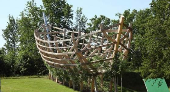 Arche aus lebenden Bäumen © Österreichischer Skulpturenpark