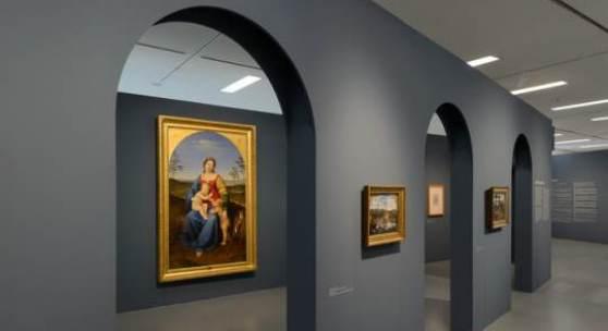 """Jospeh Anton Koch. Der erste Nazarener?  Blick in die Ausstellung """"Joseph Anton Koch. Der erste Nazarener?""""  © Wolfgang Lackner"""