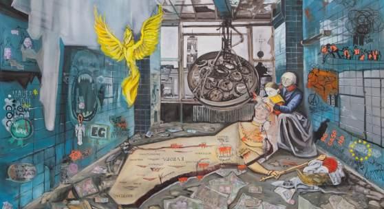 Rettet Europa! -  Aneurysma (c) Johanna Wiens