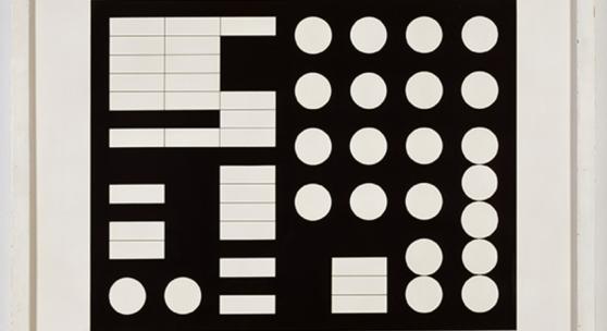 Sophie Taeuber-Arp, Schematische Komposition, 1930