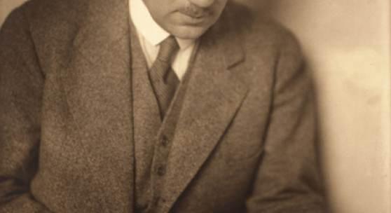 Georg Kaiser, Ende der 1920er Jahre. Foto: Riess
