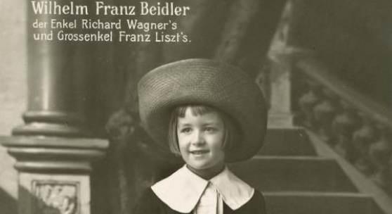 Wilhelm Franz Beidler der Enkel Richard Wagner's und Grossenkel Franz Liszt's