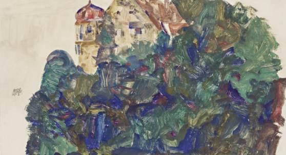 Egon Schiele   Deuring-Schlösschen © Egon Schiele   Deuring-Schlösschen   1912   Leopold Museum, Wien