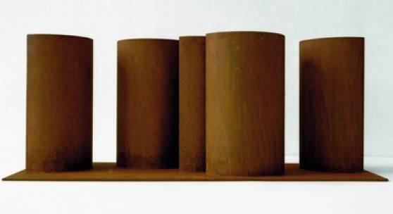 Erich Reusch, Modell für eine Skulptur aus Corten-Stahl, 1992