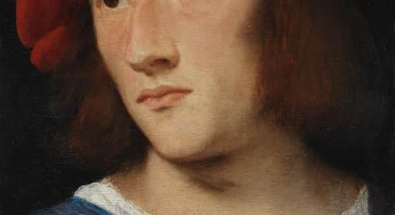 Abbildung: Tizian, Bildnis eines jungen Mannes, ca. 1510