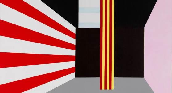 Roman Clemens, Spiel aus Form, Farbe, Licht und Ton, Finale, 1980 Sammlung Museum Haus Konstruktiv