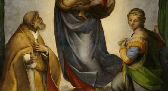Raffael (Raffaello Santi): Die Sixtinische Madonna, 1512/13