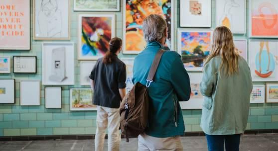 POSITIONS Berlin Art Fair 2020 credits: Oana Popa