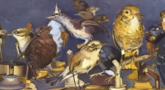 Gemälde und Zeichnungen der Künstlerin Nikola