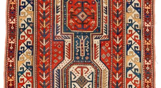 Kazak Caucasus ca. 1880 6ft. 5in. x 4ft. 3in. €1,200