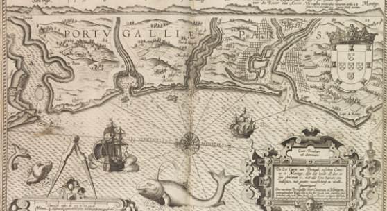 Lot: 32 Waghenaer, L. J. Espeio de la mar. 1590. Schätzpreis: 85.000 EUR / 118.150 $