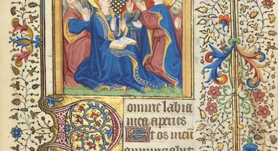 Horae B.M.V. Lateinisches Stundenbuchfür den Gebrauch von Paris Manuskript auf Pergament Paris um 1450 Aufruf: € 80.000 Erlös: € 150.000*