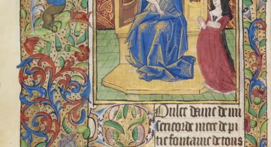 411701278 MANUSKRIPT Book of Hours. Rouen ca. 1470 Schätzpreis: € 40.000