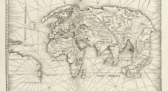 419000274 CLAUDIUS PTOLEMAEUS Geographie (Straßburg, Schott), 1513. Schätzpreis: € 140.000