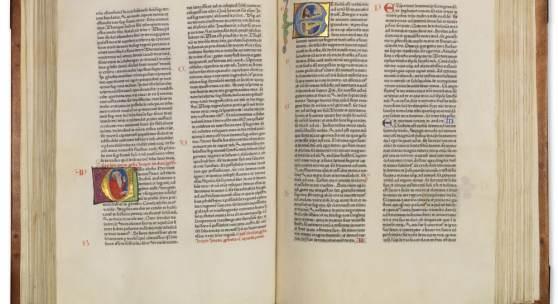 Gutenberg in Vollendung: Die Fust-Schöffer-Bibel