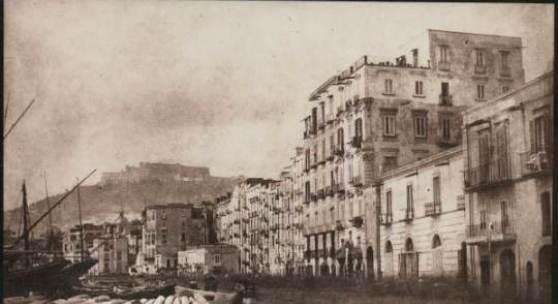 Calvert Richard Jones, Mole mit Blick auf Castel S. Elmo in Neapel, 1846  © Bayerische Staatsgemäldesammlungen / Sammlung Siegert