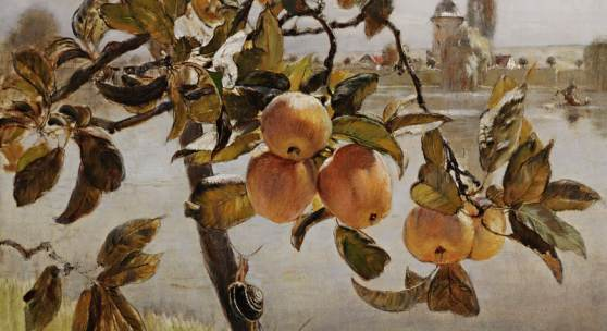 RUDOLF RIBARZ | Apfelbäumchen | um 1875 © Leopold Museum, Wien