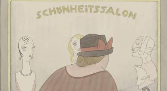 Der Zeichner Karl Arnold  Karl Arnold, Wie bleibe ich jung und schön, 1925, Bleistift, Feder in Schwarz, Aquarell, 447x340 mm, Privatbesitz  © VG Bild-Kunst, Bonn 2012