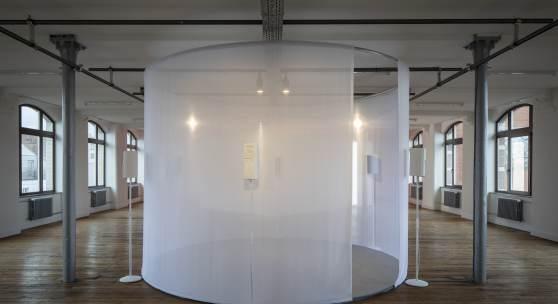 Hanne Lippard, I Missed Your Call More Than I Missed You, 2020 Artefact Festival at STUK, Leuven 2020 Photo: Kristof Vrancken