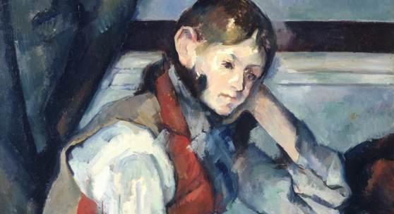 Paul Cézanne, Der Knabe mit der roten Weste, 1888/90, Sammlung Emil Bührle, Zürich, Foto: SIK-ISEA, Zürich (J.-P. Kuhn)