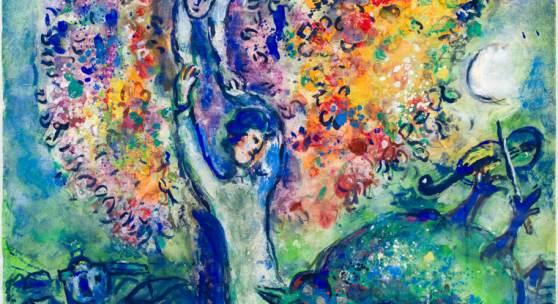 Marc Chagall 1887–1985 La joie, 1955/57  Verkauft für: 498'314 CHF
