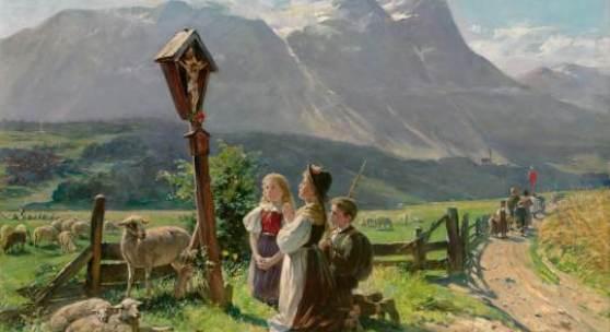 Carl Böker. 1838 - Barmen - 1905. Studierte in Düsseldorf bei Sohn und Schadow. - Auktionshaus Michael Zeller (Ausrufnummer 530, Limit 8.800 Euro)