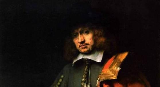 "Rembrandts, Bildnis des Jan Six"" 1654 Quelle: www.oel-bild.de"