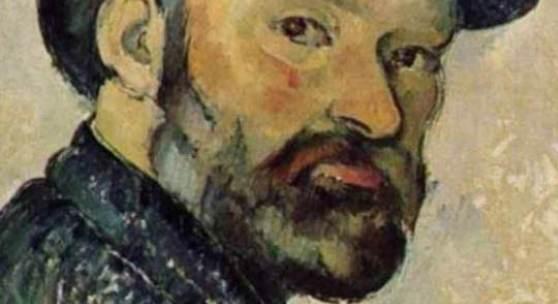 """Cezanne Biographie - Cézanne , Biographie, Selbstportraet. Das Gemälde """"Selbstportraet"""" von Cezanne Biograpie als hochwertige, handgemalte Ölgemälde-Replikation. Quelle: www.oel-bild.de"""