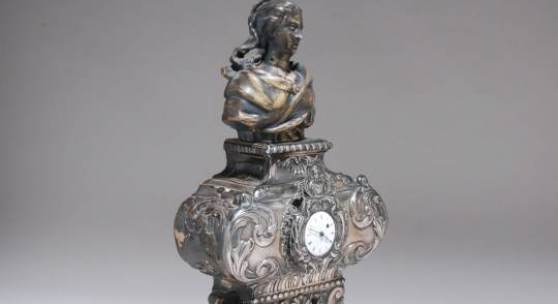 Musealer, barocker Reliquiar, Antwerpen 18. Jhd.