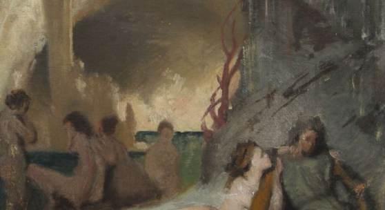 1647 / 820775 MAKART, HANS (ATTR./1840-1884):Tannhäuser im Venusberg (Skizze) Aufrufpreis: 3.000,00 €