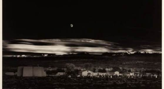 Ansel Adams (1902–1984) ›Moonrise, Hernandez, New Mexico‹, © WestLicht Photographica Auction